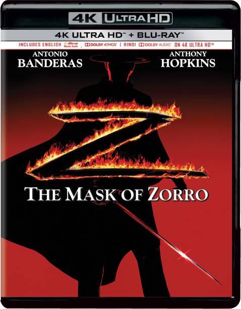 The Mask of Zorro (4K UHD & HD) (2-Disc)