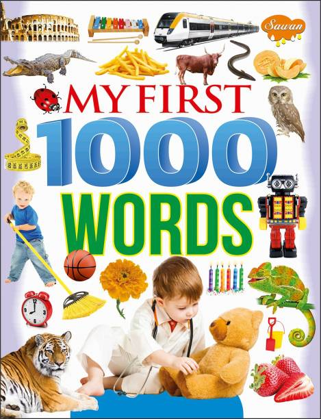 My First Picture Books, My First 1000 Words (Paper Back)