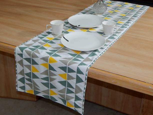 Home Colors.in Multicolor 152 cm Table Runner