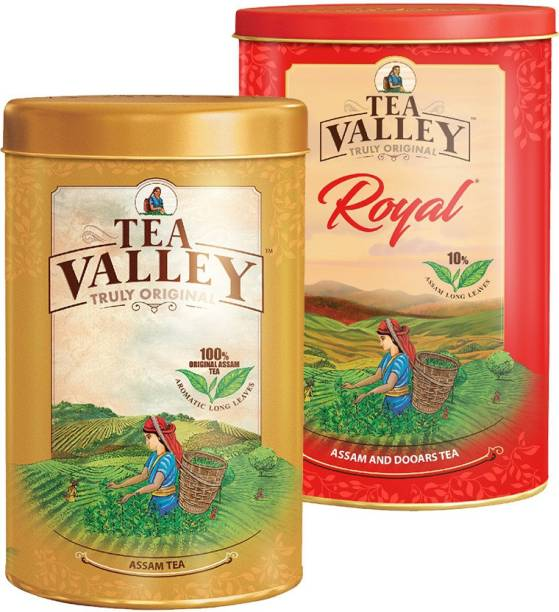 Tea Valley OR-1KG Tea Tin