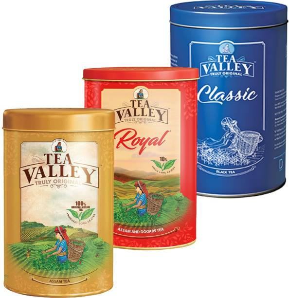 Tea Valley Combo_COR_250GM_3 Tea Tin