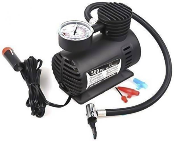 NM CREATION 300 psi Tyre Air Pump for Car & Bike