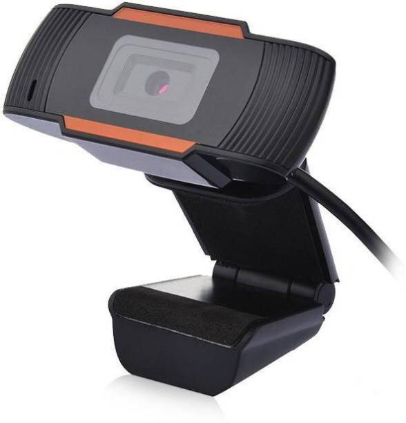 V.T.I HD USB WebCam with Mic for Laptops/PCs for Video Conferencing/Streaming/Video Calling Webcam  Webcam
