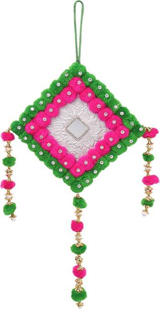 Meher Collection Multicolor Wall hanging Wool Dream Catcher