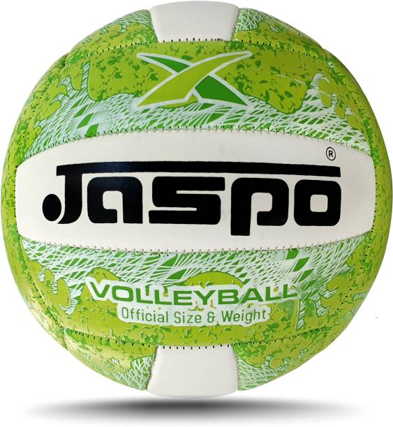 Jaspo Match PU Volleyball Waterproof Indoor /Outdoor Size:4 Volleyball - Size: 4