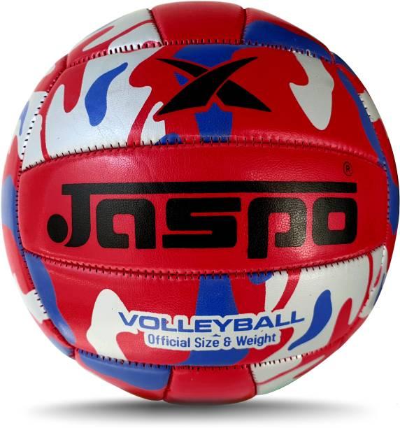 Jaspo Match PU Volleyball Waterproof Indoor /Outdoor Size:4 (Dark-Red) Volleyball - Size: 4
