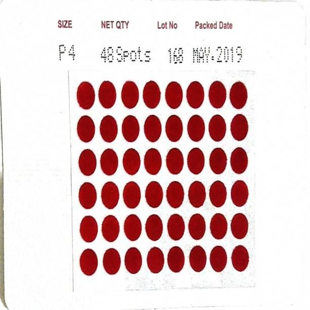 Eyetex RED P4 WOMEN Red Bindis