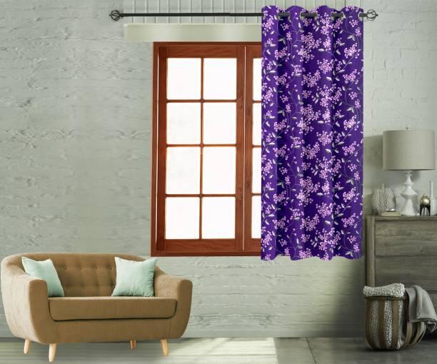 Flipkart Perfect Homes 150 cm (5 ft) Polyester Window Curtain Single Curtain