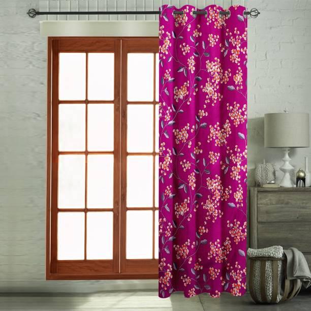 Flipkart Perfect Homes 270 CM (9 ft) Polyester Long Door Curtain Single Curtain