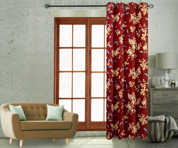 Flipkart Perfect Homes 210 cm (7 ft) Polyester Door Curtain Single Curtain