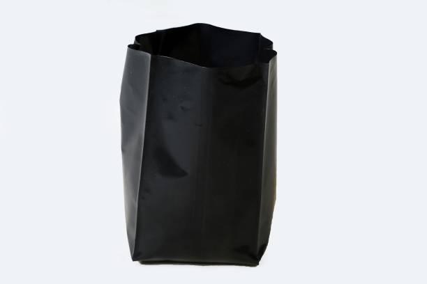 HIGHNET NurseryCover Black - 12X12 Inch Medium Size with quantity of 10 Bags Grow Bag