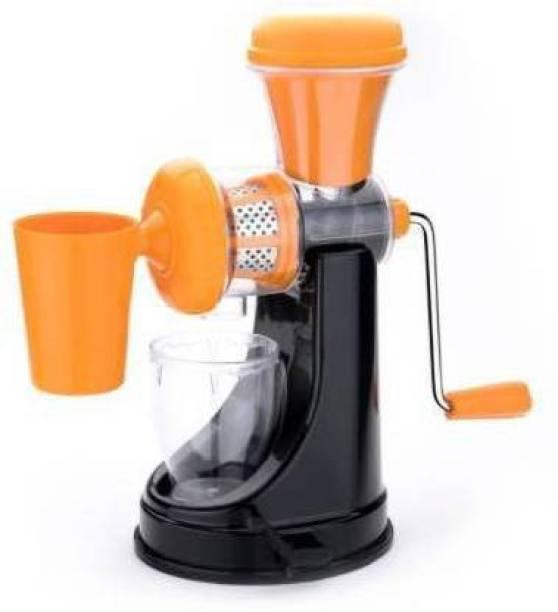 MYYNTI Plastic Hand Juicer Hand Juicer Vegetable and Fruit Juicer Machine