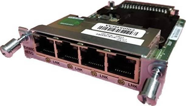 CISCO EHWIC-4ESG= Enhanced High-Speed WAN Interface Card - 4 x 10/100/1000Base-T WAN Network Interface Card