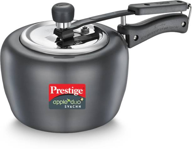 Prestige Svachh Apple Duo 3 L Induction Bottom Pressure Cooker