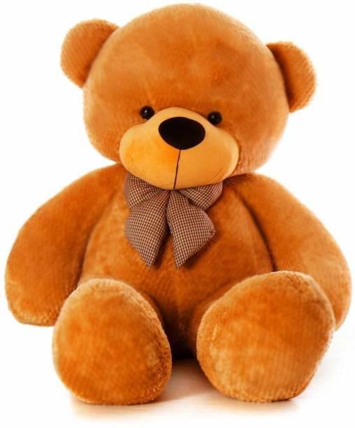 Tedstree 3 feet brown cute and soft teddy hug able teddy anniversary gift  - 95.14 cm