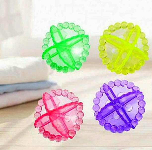 Kitchwish Washing Machine Cleaning Laundry Balls 1Set (4 balls) Detergent Bar