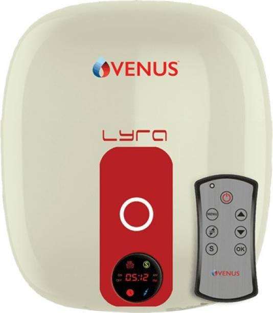 Venus 10 L Storage Water Geyser (LYRA DIGITAL 10RD IVORY/WINERED, IVORY)