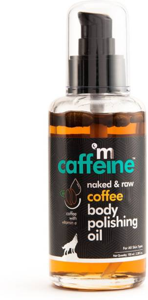 MCaffeine Naked & Raw Coffee Body Polishing Oil