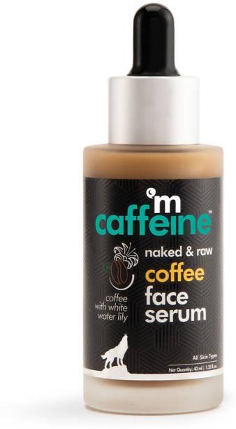 MCaffeine Naked & Raw Sun Protection Coffee Face Serum