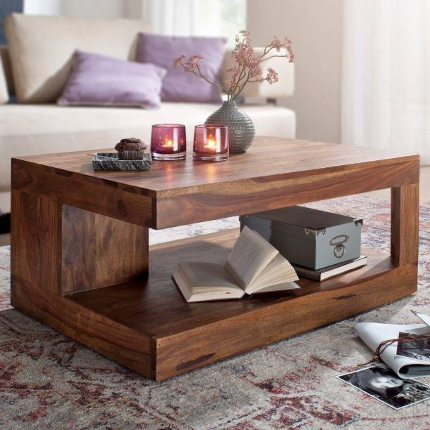 Suncrown Furniture Solid Wood Coffee Table