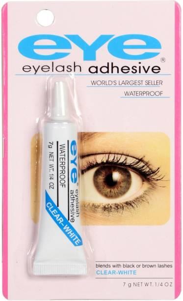 McAdams Waterproof False Eyelashes Makeup Adhesive Eye Lash Glue Clear White
