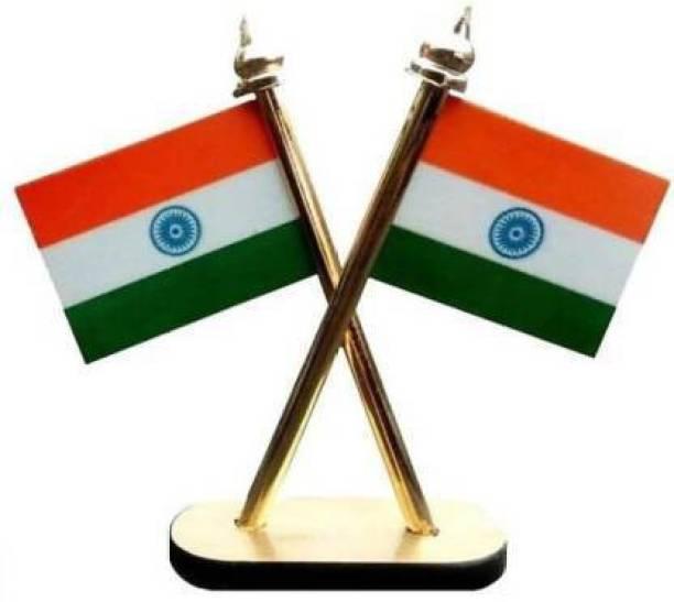 epoch India Rectangle Car Dashboard Flag Flag