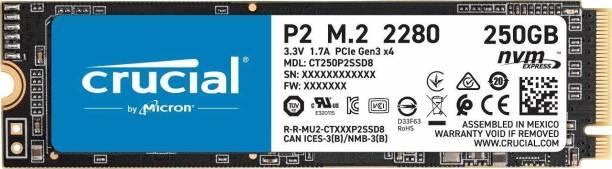 Crucial P2 250 GB Laptop, Desktop Internal Solid State Drive (CT250P2SSD8)