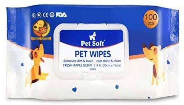Foodie Puppies FP Fresh Pet Wipes Pet Ear Eye Wipes