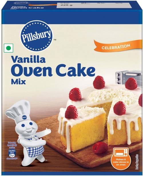Pillsbury vanilla oven cake mix 225 g