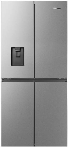Hisense 507 L Frost Free French Door Bottom Mount Refrigerator