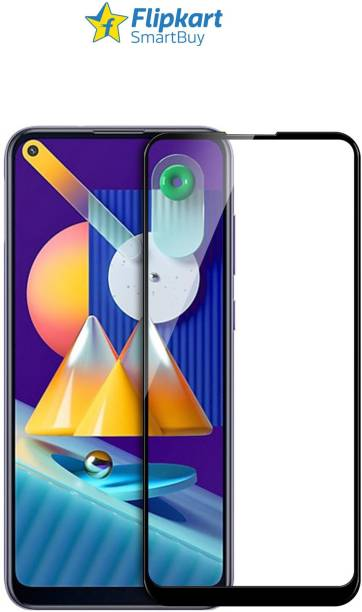Flipkart SmartBuy Edge To Edge Tempered Glass for Samsung Galaxy A11, Samsung galaxy M11