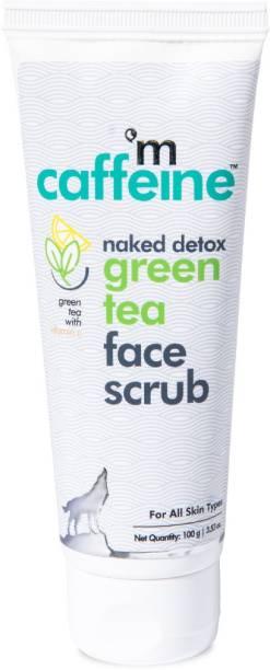 MCaffeine Naked Detox Green Tea Exfoliating Face  Scrub