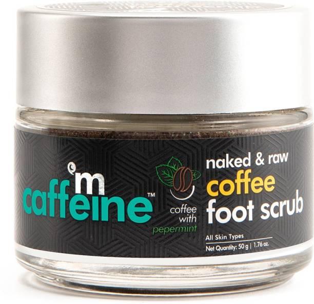 MCaffeine Naked & Raw Coffee Foot Scrub - Dead Skin & Tan Removal Scrub