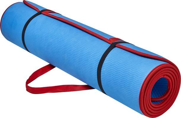 Adrenex by Flipkart Designer Anti Skid with Strap Red, Blue 6.00 mm Yoga Mat