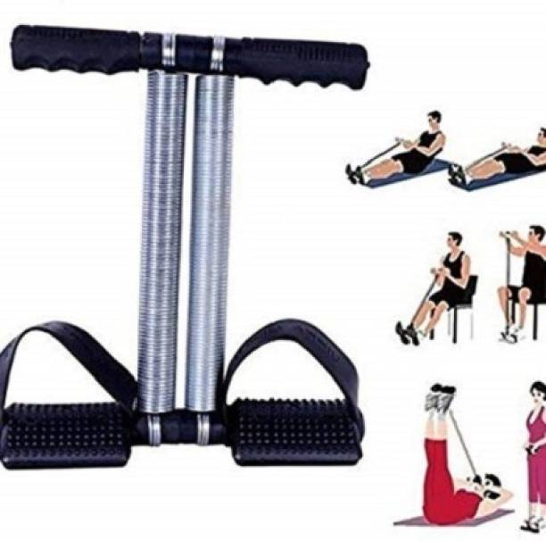 Shopeleven Dual Spring Tummy Trimmer- Multipurpose Fitness ,Ab Exerciser XS-24 for home, Gym Ab Exerciser