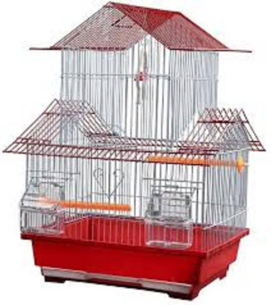 Hanu 3851 Pets Cage for Bazrri Birds Or Love Birds And All Small Birds Bird House (Hanging) Bird House