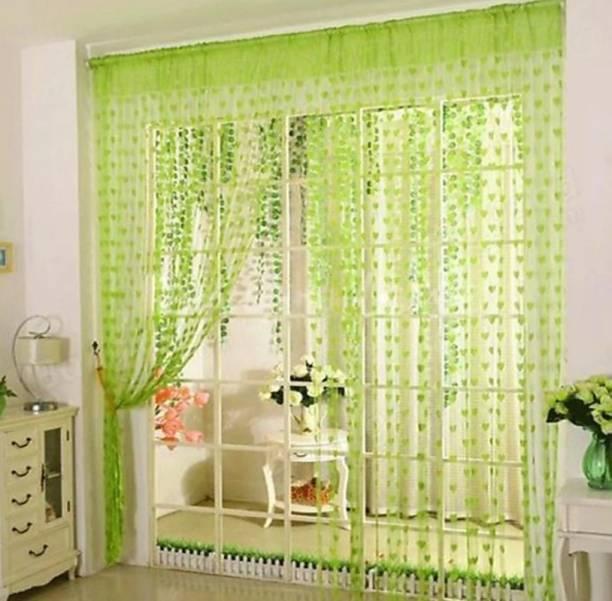 Sehbhagi 214 cm (7 ft) Net Door Curtain Single Curtain