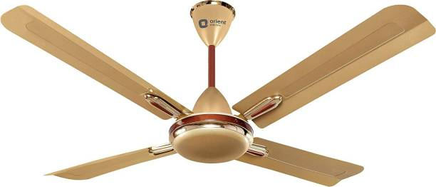 Orient Electric QUADRO ORNAMENTAL 1200 mm Ultra High Speed 4 Blade Ceiling Fan
