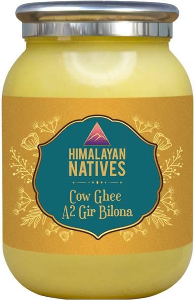 Himalayan Natives 100% natural A2 gir Cow Bilona Ghee Ghee 250 ml Plastic Bottle