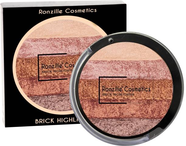 RONZILLE Cosmetics Baked Blusher and Highlighter -01