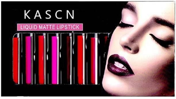 KASCN Liquid Matte Lipstick Set of 12 Shades Multicolor