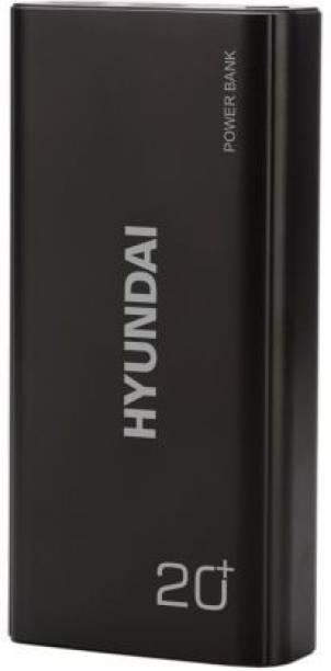 Hyundai 20000 mAh Power Bank (Quick Charge 2.0, Fast Charging)