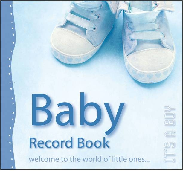 Baby Record Book, It's A Boy | By Sawan