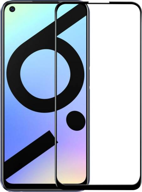 VAlight Edge To Edge Tempered Glass for Realme 6, Realme 6i, Realme 7, Realme 7i, Realme Narzo 20 Pro
