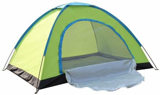 IRIS Portable Outdoor Camping Tent - For 4 Person