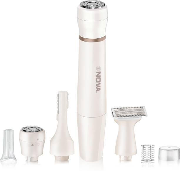 NOVA NLS 533 Facial Sensi-Trim Touch  Runtime: 60 min Trimmer for Women