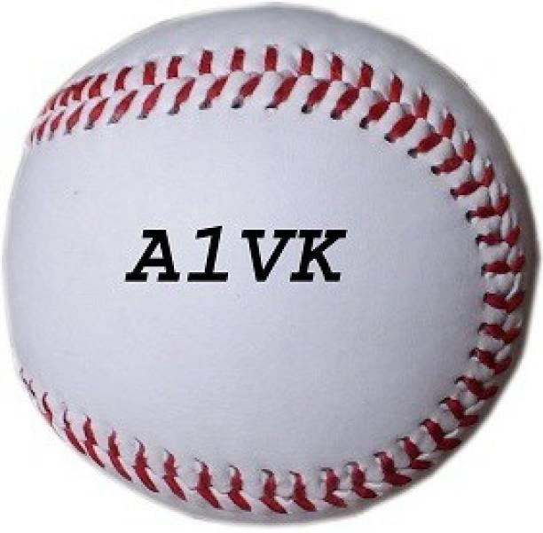 VK A1VK Baseball Cork Center Official Size 9 Inch Baseball (Pack of 1, White) Baseball