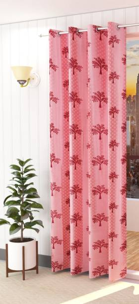 Spangle Homes 153 cm (5 ft) Polyester Window Curtain Single Curtain