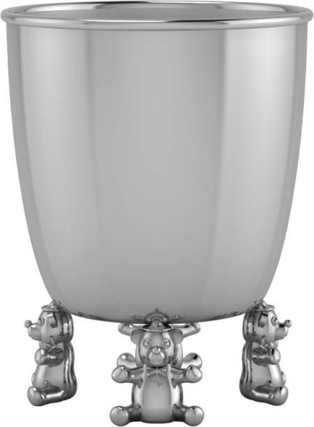 Krysaliis Sterling Silver Teddy Baby Cup  - Sterling Silver