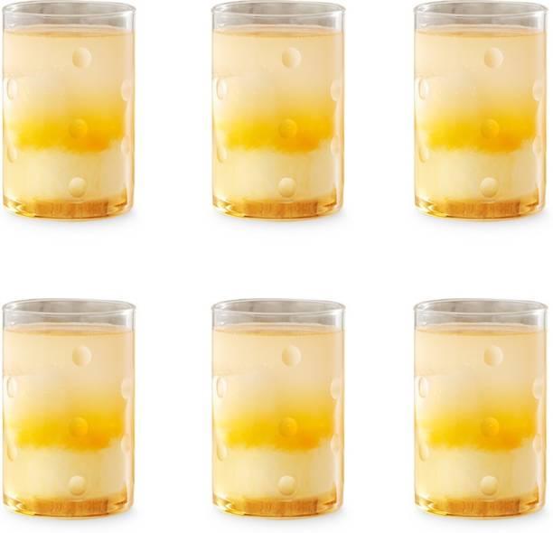 BOROSIL (Pack of 6) BN430120030 Glass Set